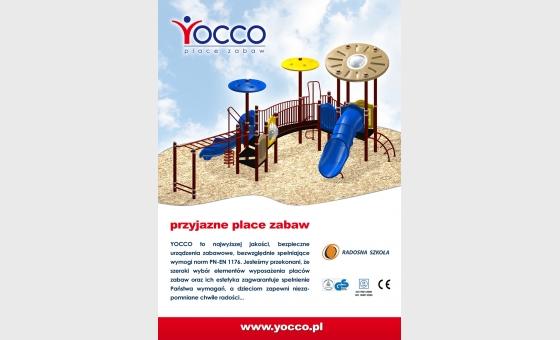 Reklama prasowa Yocco
