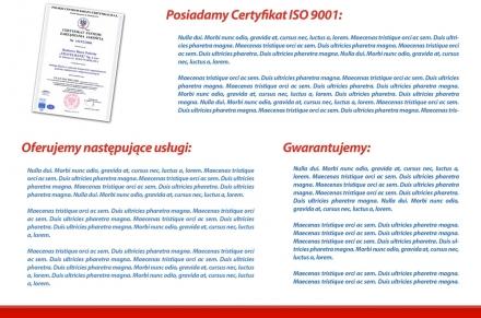 Katalog strona wewnętrzna