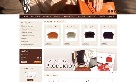 Strona główna sklepu